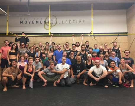 the workshop crew at Boulder Movement Collective