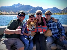 boating in Lake Dillon