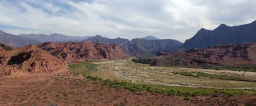 The breathtaking Quebrada de las Conchas
