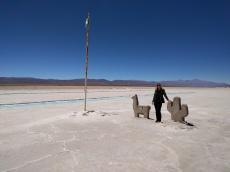 The salt mines at Salinas Grandes