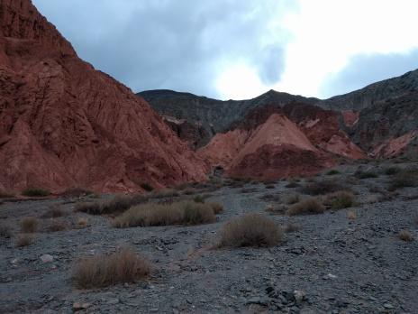 The amazing colors at Los Colorados in Purmamarca