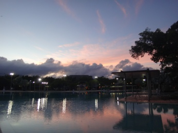 Cairns' beautiful Esplanade Lagoon