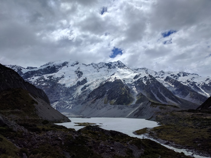 Mount Cook. The highest peak in NZ