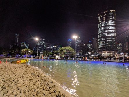 Brisbane's Streets Beach in South Bank